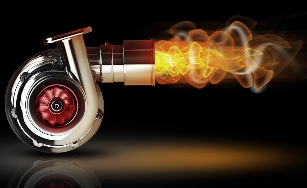 Турбина для двигателя внутреннего сгорания