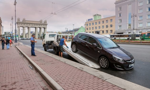 Законно ли изъятие машины на штрафстоянку за использование в такси