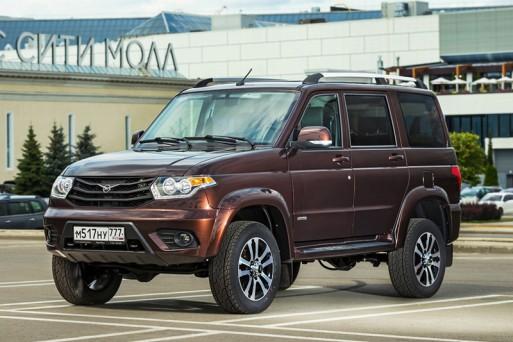 УАЗ начинает продажи обновленного UAZ Patriot