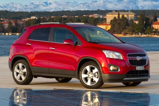 Автомобиль Chevrolet Tracker исчезает из России