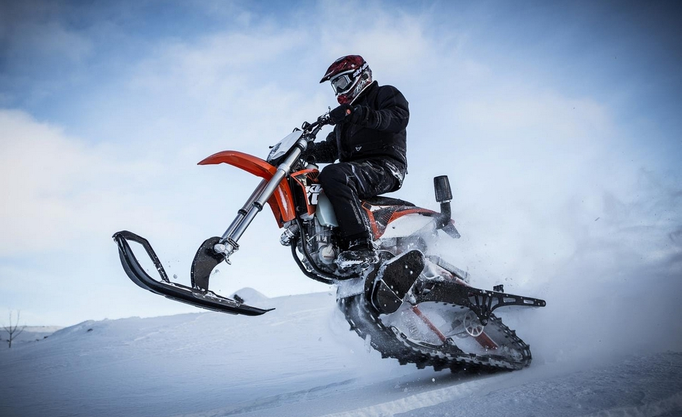 Sex snowmobile