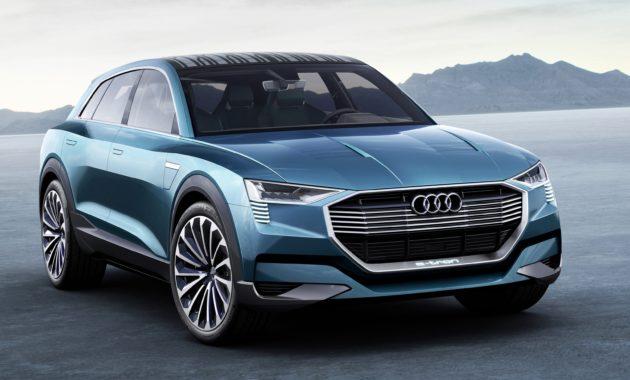 Audi e-tron quattro показал будущее электрокроссоверов марки