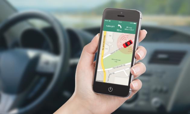 Отслеживание транспорта через мобильный телефон с помощью GPS трекера