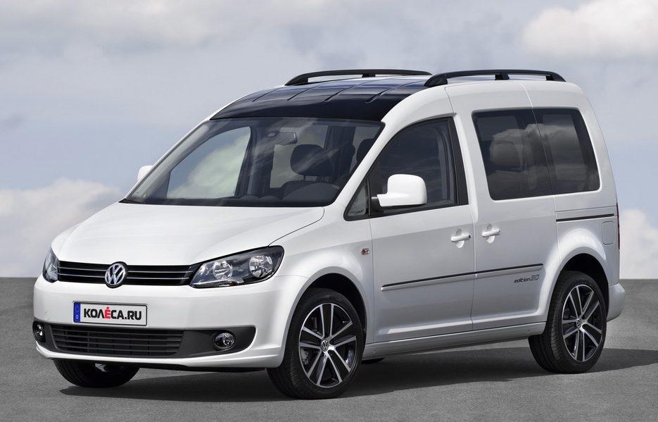 Тест-драйв Volkswagen Caddy edition30 ( Фольксваген Кадди едишьон 30 ... a9ea57917db86