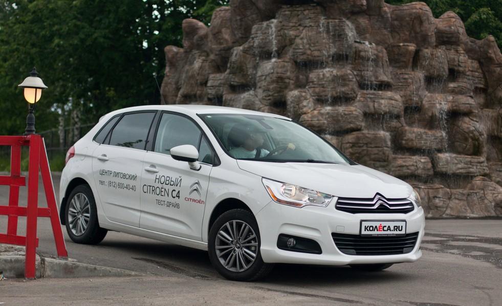 Тест-драйв Citroen C4 Седан: мультикультурие - CARS ru