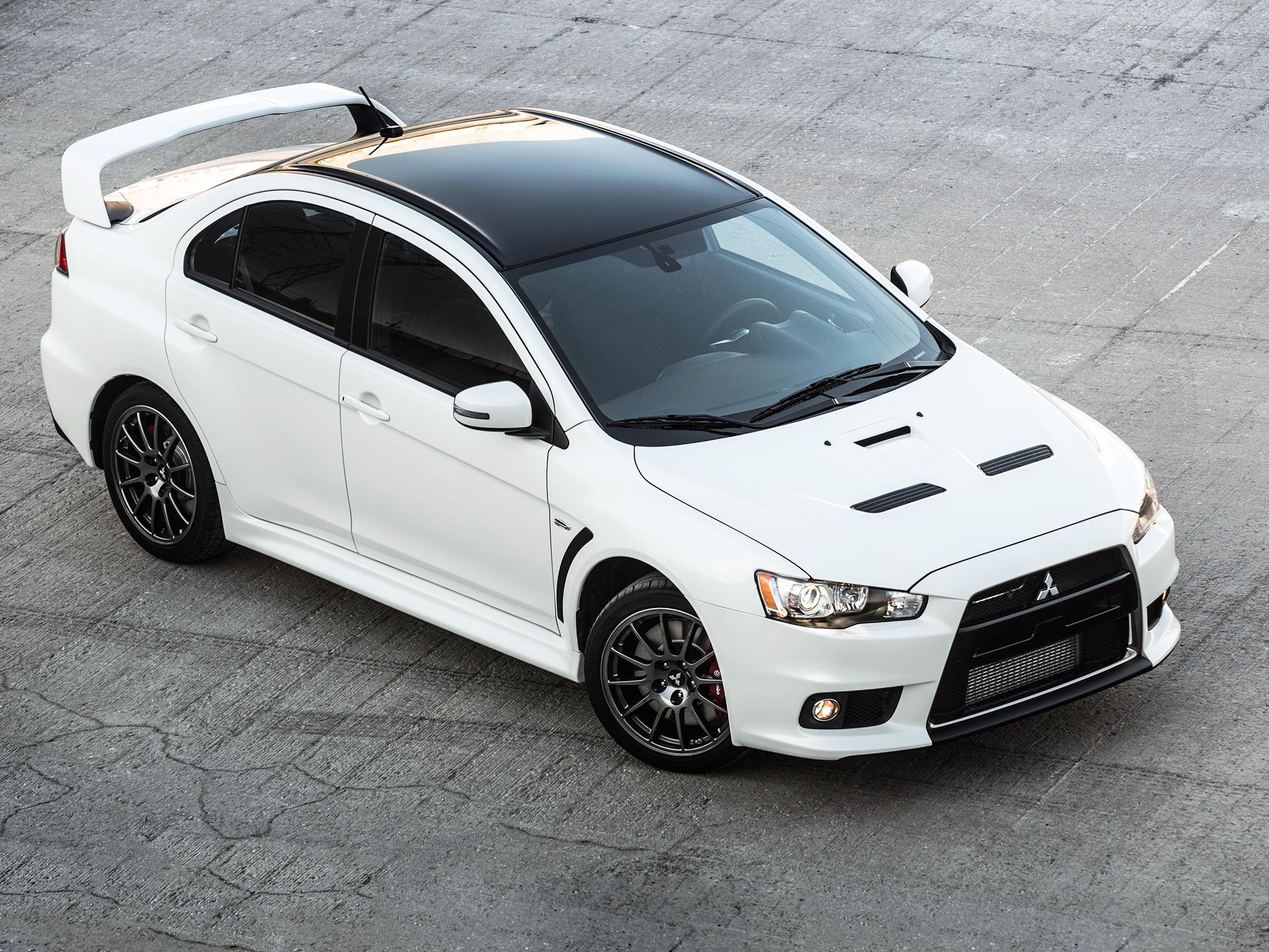 Mitsubishi lancer evolution x 2015