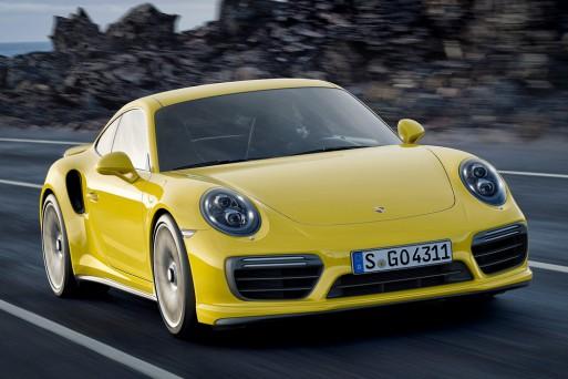 Обновленные Porsche 911 Turbo и Turbo S получили моторы мощностью 540 и 580 л.с